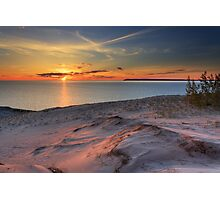 Sunset on Sleeping Bear Dunes National Lakeshore Photographic Print