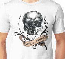 Sins & Needles Tattoo Parlor Unisex T-Shirt