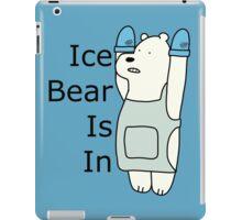 Ice Bear Is In iPad Case/Skin
