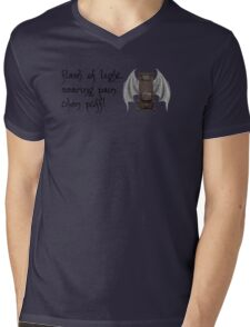 Think Furnace With Wings Mens V-Neck T-Shirt
