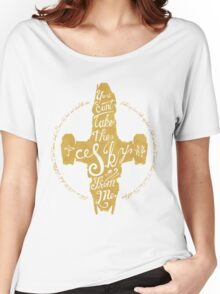 Free Skies (gold) Women's Relaxed Fit T-Shirt