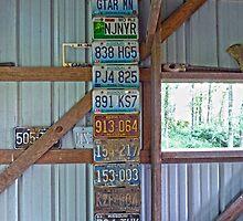 Old Missouri License Plates by Susan S. Kline