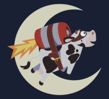 The Cow's Successful Mission Over The Moon Kids Clothes