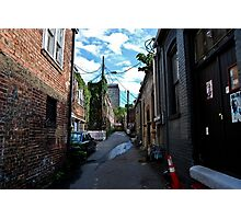Asheville Alley  Photographic Print