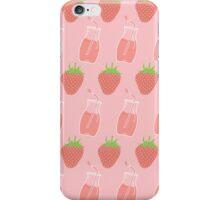 Strawberry Milk! iPhone Case/Skin