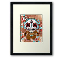Te Amo, Said the Sugar Skull Framed Print