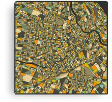 VIENNA MAP Canvas Print
