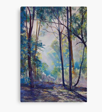 Early Morning Bushwalk Canvas Print