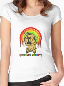 Lonely Robot: Imagination John Women's Fitted Scoop T-Shirt