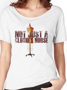 Not Just A Clothes Horse Women's Relaxed Fit T-Shirt
