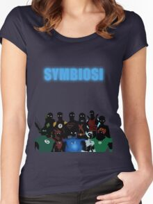 Symbiosi Women's Fitted Scoop T-Shirt