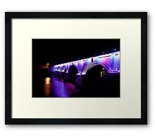 Stone Bridge - Memorial Day Framed Print