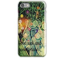 good luck and good fortune iPhone Case/Skin