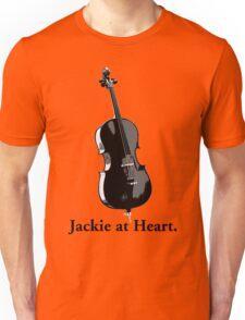 Jackie At Heart (B&W) Unisex T-Shirt