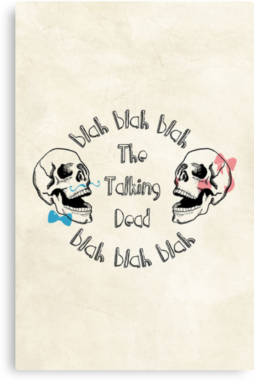 The Funny Talking Dead Skull Picture by thejoyker1986