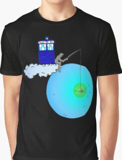 Doctor Who fishing Graphic T-Shirt