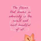 Mulan's Blossom by iamladyhope