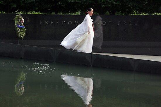 Korean War Memorial by Judson Joyce