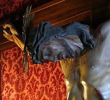 Jesus Crucified by fajjenzu