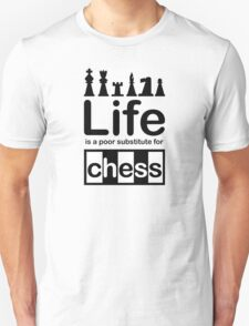 iPad Chess Board, Timber Over Technology Unisex T-Shirt