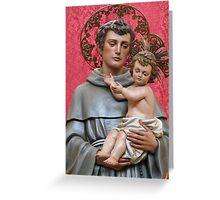 Saint Anthony Greeting Card