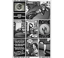 Razor Blades Photographic Print