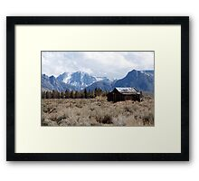 Open World Framed Print
