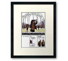4th Wall Framed Print