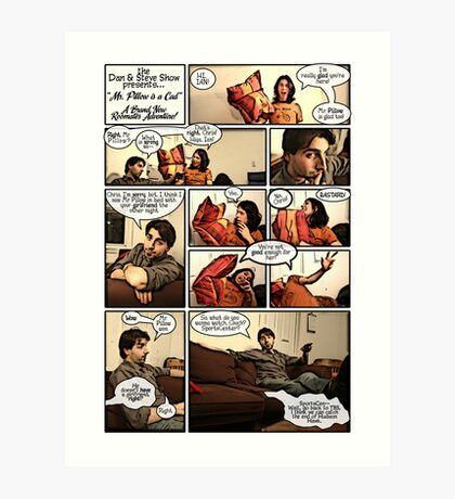 Mr. Pillow Art Print
