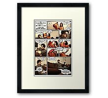 Mr. Pillow Framed Print