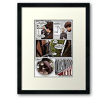 Quasi Framed Print