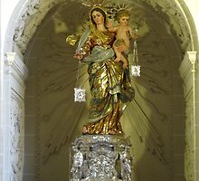 Our Lady of Mount Carmel by fajjenzu