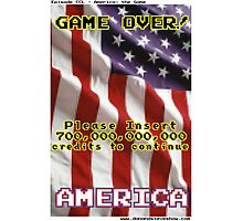 America The Game Photographic Print
