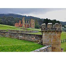 Moody Ruins Photographic Print