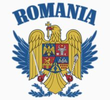 Romania Coat of Arms by GreatSeal