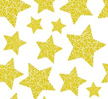 Christmas five-pointed stars by PPanther