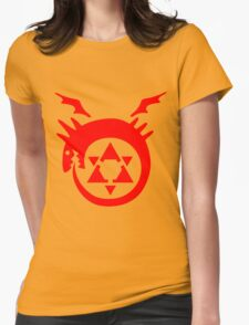 FullMetal Alchemist Uroboro [red] Womens Fitted T-Shirt