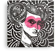 Bunhead - Rose coloured glasses Metal Print