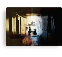liquid spaces.portal Canvas Print