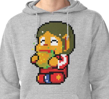 Burger Time Pullover Hoodie