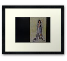"""""""Stop hiding from me"""" Framed Print"""