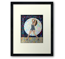 Prismatic Tina Turner Framed Print