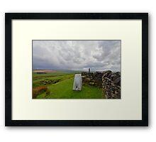 Lancashire: Knarrs Hill Framed Print