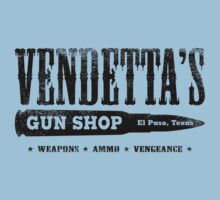 Vendetta's Gun Shop by GritFX