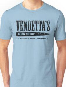 Vendetta's Gun Shop Unisex T-Shirt