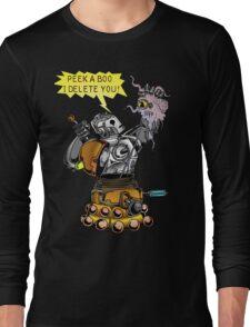 Cyber vs Dalek Long Sleeve T-Shirt
