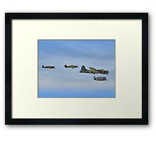 Sally B And Eagle Squadron - Duxford 26.05.2013 Framed Print