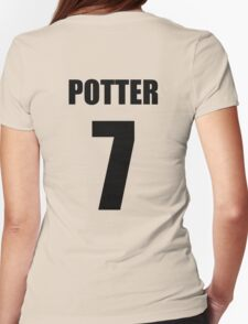 Potter 7 Top Womens Fitted T-Shirt