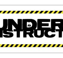 Under construction Sticker