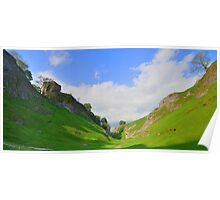 The Peak District: Cave Dale Poster
